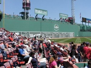 Fenway Park's Green Monster