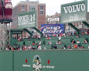 Fenway Park's Monster Seats