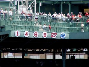 Fenway Park's Retired Numbers